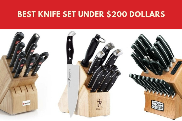 best knife set under 200