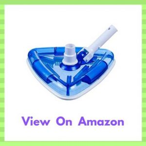 Milliard Sea-Thru Triangle Weighted Pool and Spa Vacuum Head