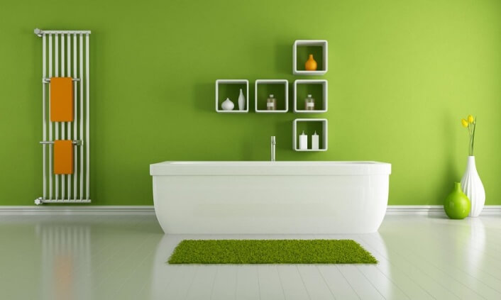 How to Go green in The Bathroom