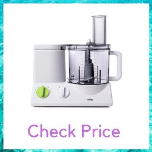 BRAUN FOOD PROCESSOR WITH COARSE SLICING BLADE AND FRY SYSTEM