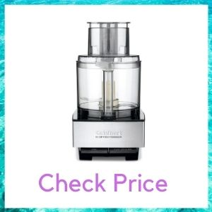 CUISINART FOOD PROCESSOR, BRUSHED STAINLESS STEEL