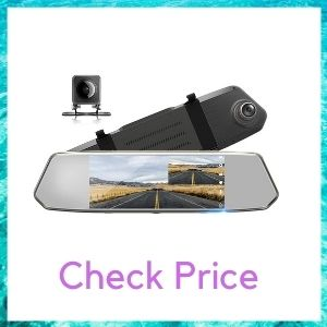 TOGUARD Backup Camera for Cars with Waterproof Reversing Parking Assistance