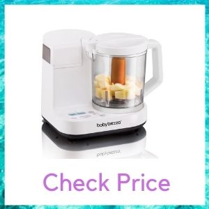 Baby Brezza Glass Baby Food Maker 4-cup