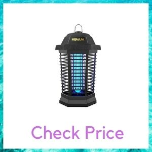 HEMIUA Bug Zapper for Outdoor and Indoor, Electronic Mosquito Zapper for Home